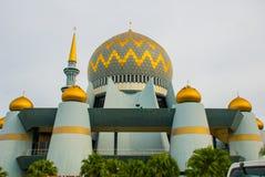Masjid Negeri Sabah the state mosque of Sabah, Malaysia. Kota Kinabalu stock photo