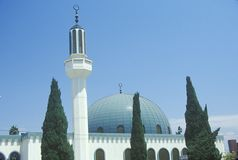 Masjid Omar ibn Al-Khattab Mosque in Los Angeles California Stock Photos