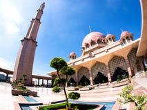 Masjid Putra Fotografering för Bildbyråer