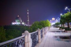 Masjid Putra et bureau du gouvernement malaisien photographie stock