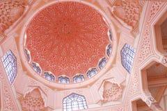 Masjid Putra lub; główny meczet Putrajaya, Malezja Fotografia Stock