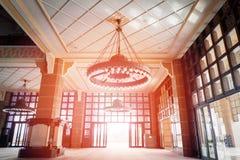 Masjid Putra lub; główny meczet Putrajaya, Malezja Zdjęcia Royalty Free