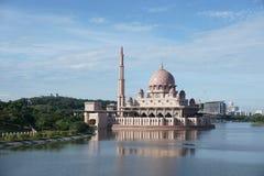 Masjid Putra, Putrajaya, Kuala Lumpur, Malezja Fotografia Stock