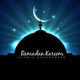 Masjid ramadan backgorund Stock Images