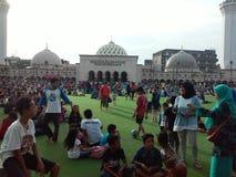 Masjid Raya万隆 图库摄影