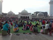 Masjid Raya Bandung Foto de archivo libre de regalías