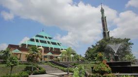 Masjid Raya Batam pyramid mosque, batam island, indonesia Royalty Free Stock Photo