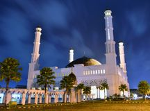 Masjid Raya Pontianak. One of the largest Mosques in Pontianak Indonesia Stock Photos