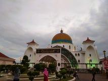 Masjid Selat Fotografering för Bildbyråer