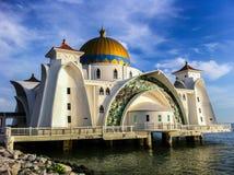 Masjid selat melaka Stockfotos