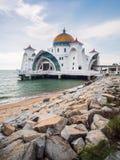 Masjid Selat Melaka Stock Photo