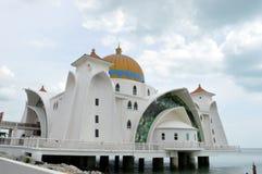 Masjid Selat Melaka , The Straits Mosque Melaka Stock Image