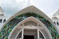 Masjid Selat Melaka , The Straits Mosque Melaka Stock Photo