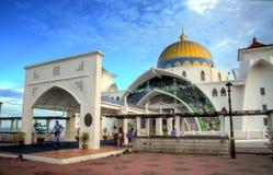 Masjid Selat (mezquita de los estrechos) Imágenes de archivo libres de regalías