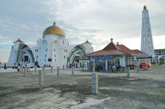 Masjid Selat Mosque Royalty Free Stock Images