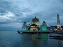 Masjid selatmelaka Royaltyfri Foto