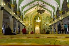 Masjid sułtanu meczetu wnętrze Obraz Royalty Free