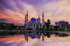 Masjid Sultan Ahmad Shah immagine stock libera da diritti