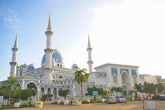 Masjid Sultan Haji Ahmad Shah 1 moské på Kuantan, Malaysia Arkivbild