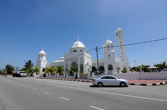 Masjid Sultan Ismail in Chendering, Terengganu Royalty Free Stock Photography