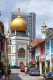 Masjid Sultan in Kampong Glam district in Singapore Royalty Free Stock Photography