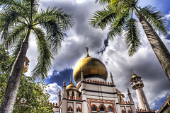 Masjid Sultan Mosque. This image, Masjid Sultan Mosque, Kampong Glam, Singapore, has an AdobeRGB(1998) color profile. The colors in the Dreamstime preview image Stock Images