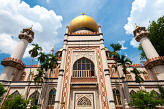 Masjid Sultan Mosque, Singapore. This image shows the Masjid Sultan Mosque, in Singapore royalty free stock photography
