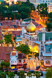 Masjid Sultan Mosque, Singapore. This image shows the Masjid Sultan Mosque, in Singapore royalty free stock images