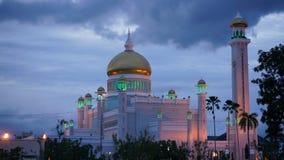 Masjid Sultan Omar Ali Saifuddin Mosque au Brunei photos libres de droits