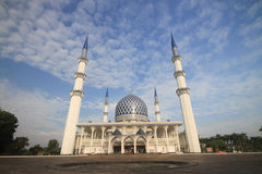 The Masjid Sultan Salahuddin Abdul Aziz Shah Malaysia Royalty Free Stock Photo