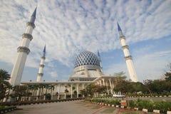 Masjid Sultan Salahuddin Abdul Aziz Shah Maleisië Stock Afbeelding