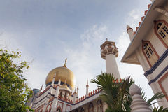 Masjid Sultan in Singapore. Masjid Sultan Mosque Exterior Architecture in Singapore royalty free stock image