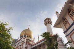 Masjid-Sultan in Singapur Lizenzfreies Stockbild