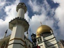 Masjid-Sultansmoschee in Singapur während des Tages Stockfotos