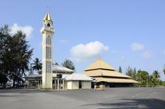 Masjid Tanjung Api på Kuantan, Malaysia Arkivbilder