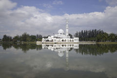 Masjid Tengku Tengah Zaharah in Kuala Terrengganu, Malaysia Royalty Free Stock Photography