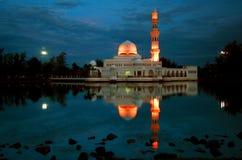Masjid Terapung à l'aube photo libre de droits