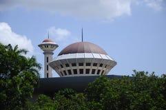 Masjid Universiti Putra Malaysia på Serdang, Selangor, Malaysia Arkivfoton