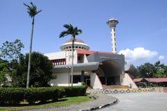 Masjid Universiti Putra Malaysia på Serdang, Selangor, Malaysia Royaltyfri Bild