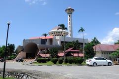 Masjid Universiti Putra Malaysia at Serdang, Selangor, Malaysia. SELANGOR, MALAYSIA – JANUARY 12, 2015: Malaysia Putra University Mosque or Masjid UPM was royalty free stock photo