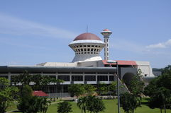 Masjid Universiti Putra Malaysia at Serdang, Selangor, Malaysia. SELANGOR, MALAYSIA – JANUARY 12, 2015: Malaysia Putra University Mosque or Masjid UPM was Stock Images