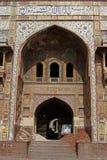 Masjid Wazir Khan, Lahore Stock Afbeelding