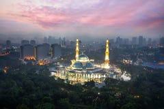 Masjid Wilayah Persekutuan στοκ εικόνες