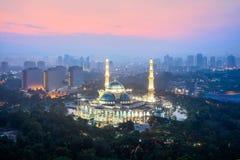 Masjid Wilayah Persekutuan Stockbilder