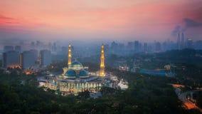 Masjid Wilayah Persekutuan Fotografia Stock Libera da Diritti