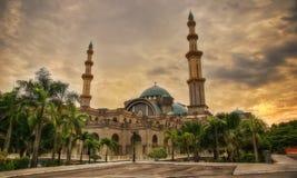 Masjid Wilayah Persekutuan Federal Mosque Kuala Lumpur Malaysia Royalty Free Stock Photography
