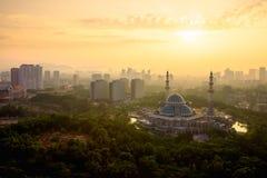 Masjid Wilayah Persekutuan Royalty Free Stock Image