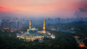 Masjid Wilayah Persekutuan Royalty Free Stock Photography