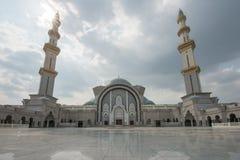 Masjid Wilayah Persekutuan in Kuala Lumpur, Maleisië Stock Foto