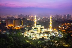 Masjid Wilayah Persekutuan Royalty Free Stock Photos